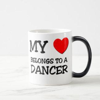 My Heart Belongs To A DANCER Magic Mug