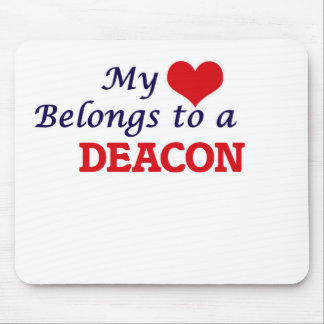 My heart belongs to a Deacon Mouse Pad