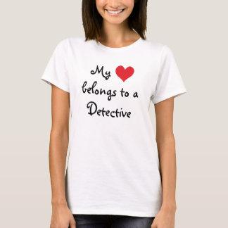 My Heart Belongs to a Detective T-Shirt