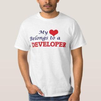 My heart belongs to a Developer T-Shirt