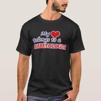 My heart belongs to a Diabetologist T-Shirt