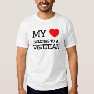 My Heart Belongs To A DIETITIAN T Shirt