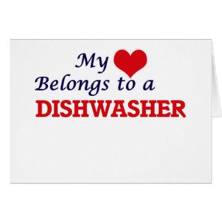 My heart belongs to a Dishwasher Card