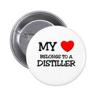 My Heart Belongs To A DISTILLER Button