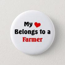 My heart belongs to a Farmer Button