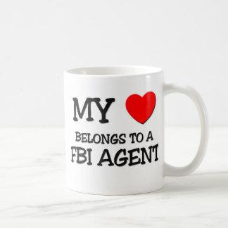 My Heart Belongs To A FBI AGENT Mug