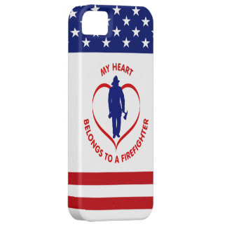 My Heart Belongs To A Firefighter iPhone SE/5/5s Case