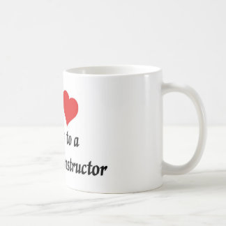 My heart belongs to a fitness Instructor Coffee Mug