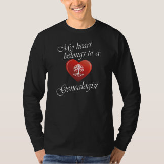 My Heart Belongs To A Genealogist Shirt
