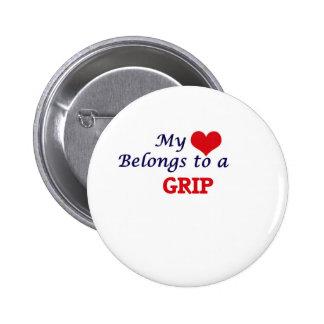 My heart belongs to a Grip Button