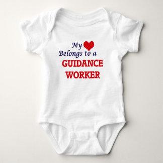 My heart belongs to a Guidance Worker Baby Bodysuit