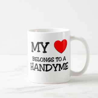 My Heart Belongs To A HANDYME Mug