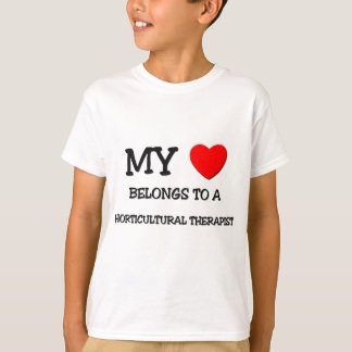 My Heart Belongs To A HORTICULTURAL THERAPIST T-Shirt