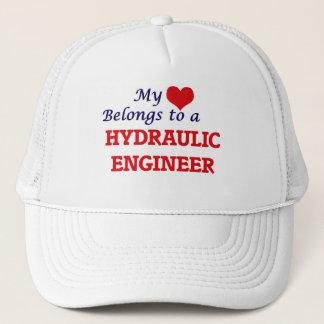 My heart belongs to a Hydraulic Engineer Trucker Hat