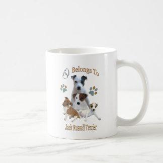 My Heart Belongs To A Jack Russell Coffee Mug