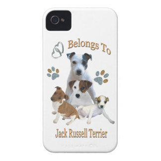 My Heart Belongs To A Jack Russell iPhone 4 Case