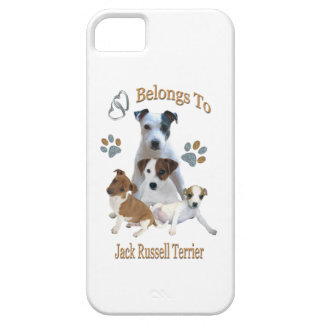 My Heart Belongs To A Jack Russell iPhone SE/5/5s Case