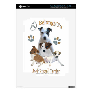 My Heart Belongs To A Jack Russell Skin For iPad 3