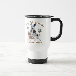 My Heart Belongs To A Jack Russell Travel Mug