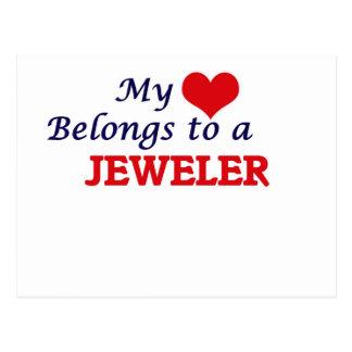 My heart belongs to a Jeweler Postcard
