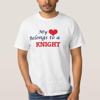 My heart belongs to a Knight T-Shirt