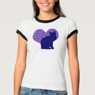 My Heart Belongs to a Maine Coon T-Shirt