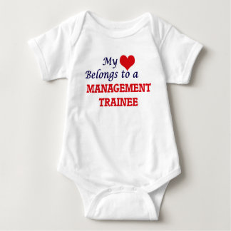 My heart belongs to a Management Trainee Baby Bodysuit