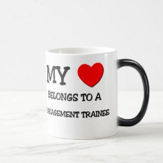 My Heart Belongs To A MANAGEMENT TRAINEE Magic Mug