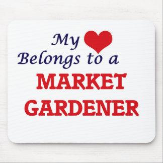 My heart belongs to a Market Gardener Mouse Pad