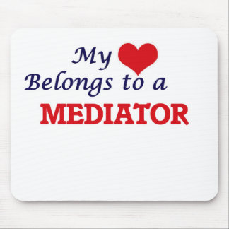 My heart belongs to a Mediator Mouse Pad
