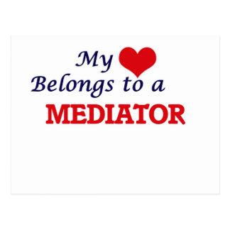 My heart belongs to a Mediator Postcard