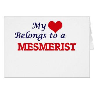 My heart belongs to a Mesmerist Card