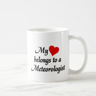 My heart belongs to a Meterologist Coffee Mug