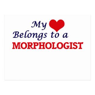 My heart belongs to a Morphologist Postcard