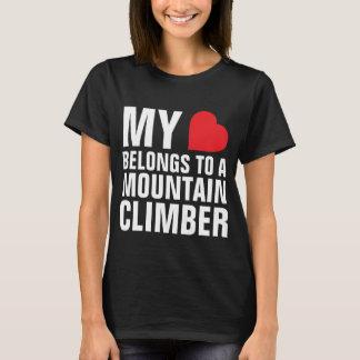 My heart belongs to a Mountain Climber T-Shirt