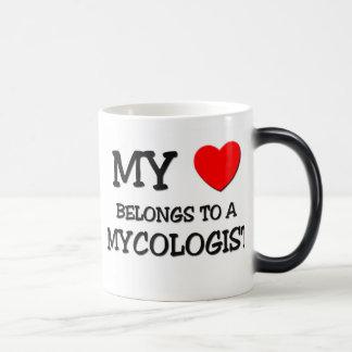 My Heart Belongs To A MYCOLOGIST Coffee Mugs