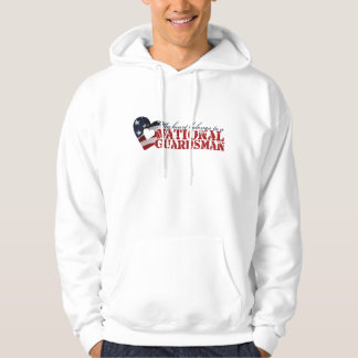 My heart belongs to a National Guardsman Hoodie