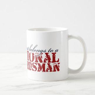 My heart belongs to a National Guardsman Mug