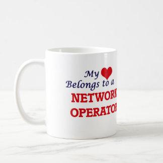 My heart belongs to a Network Operator Coffee Mug