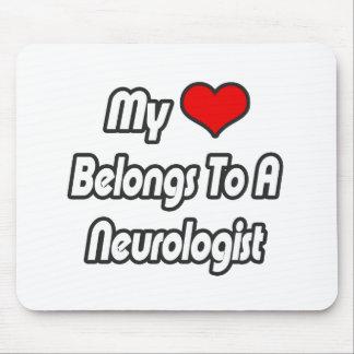 My Heart Belongs To A Neurologist Mouse Pad