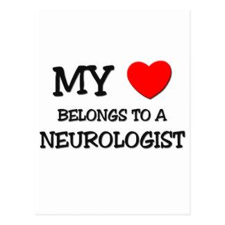 My Heart Belongs To A NEUROLOGIST Postcards