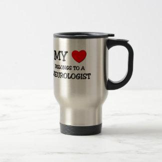 My Heart Belongs To A NEUROLOGIST Travel Mug