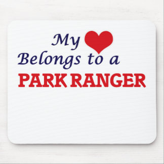 My heart belongs to a Park Ranger Mouse Pad