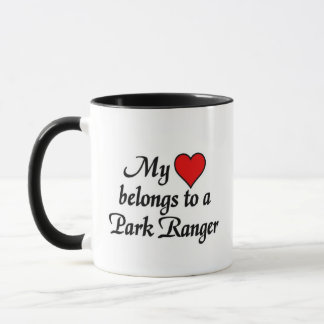 My heart belongs to a Park Ranger Mug