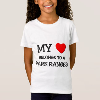 My Heart Belongs To A PARK RANGER T-Shirt