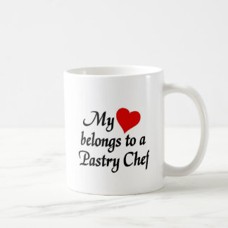 My heart belongs to a pastry Chef Coffee Mug