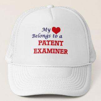 My heart belongs to a Patent Examiner Trucker Hat