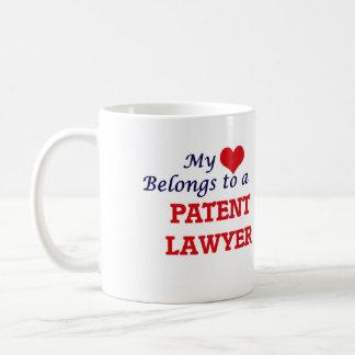 My heart belongs to a Patent Lawyer Coffee Mug