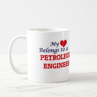 My heart belongs to a Petroleum Engineer Coffee Mug