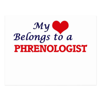 My heart belongs to a Phrenologist Postcard